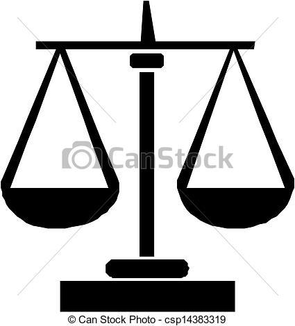 Libra clipart justice symbol Search Scales justice justice Vector