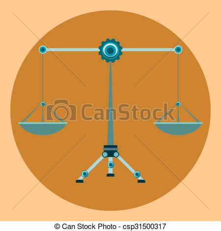 Libra clipart law symbol Clip Vector Justice Balance of