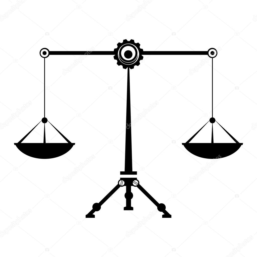 Libra clipart law symbol Vector  Stock Scales Symbol