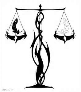 Libra clipart law symbol 10 Tattoos on Law Into