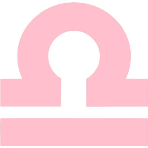 Libra clipart pink Icons signs libra Free pink