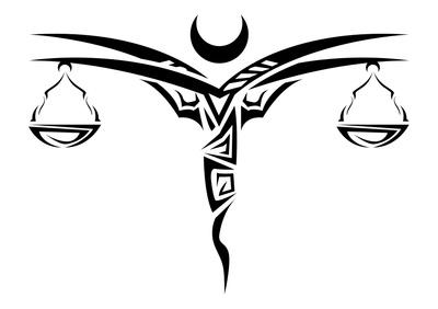 Libra clipart tribal Libra Art  Free Just