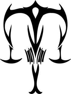 Libra clipart tribal Libra design  LibraSunScorpioRising Tattoo