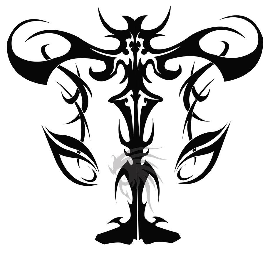 Libra clipart tribal Tribal 4 libra Tribal design