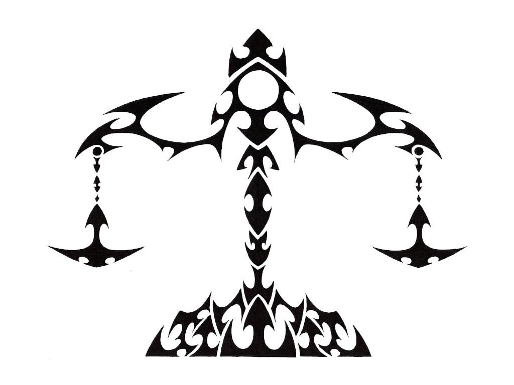 Libra clipart tribal Libra Libra Images Sign Clip