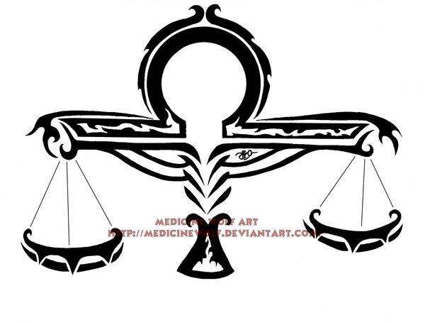 Libra clipart tribal Libra on Libra @deviantART on