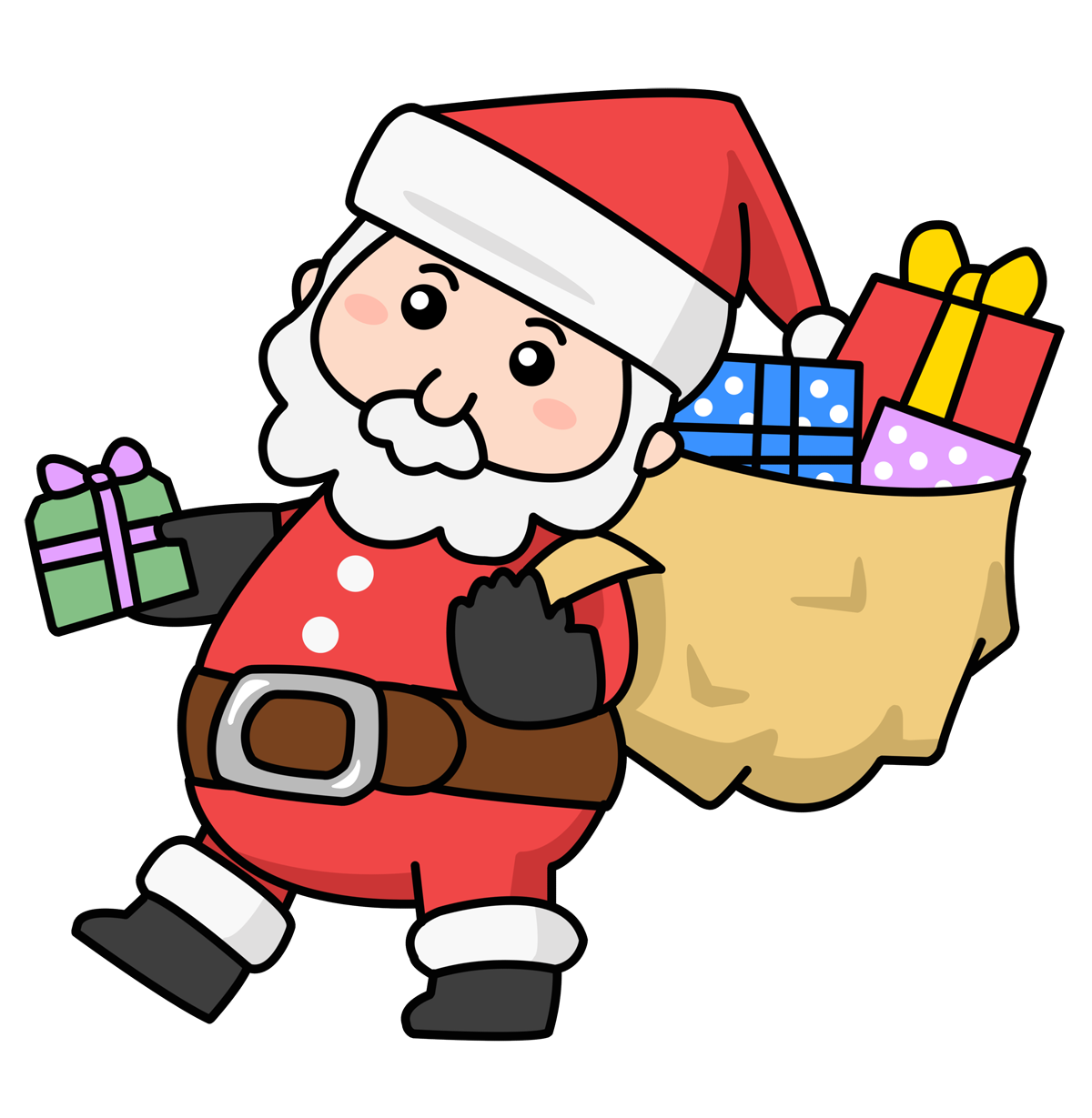 Gift clipart comic #2
