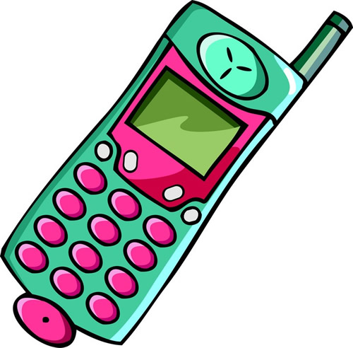 Telephone clipart cell phone Pictures Clip Download Free Free