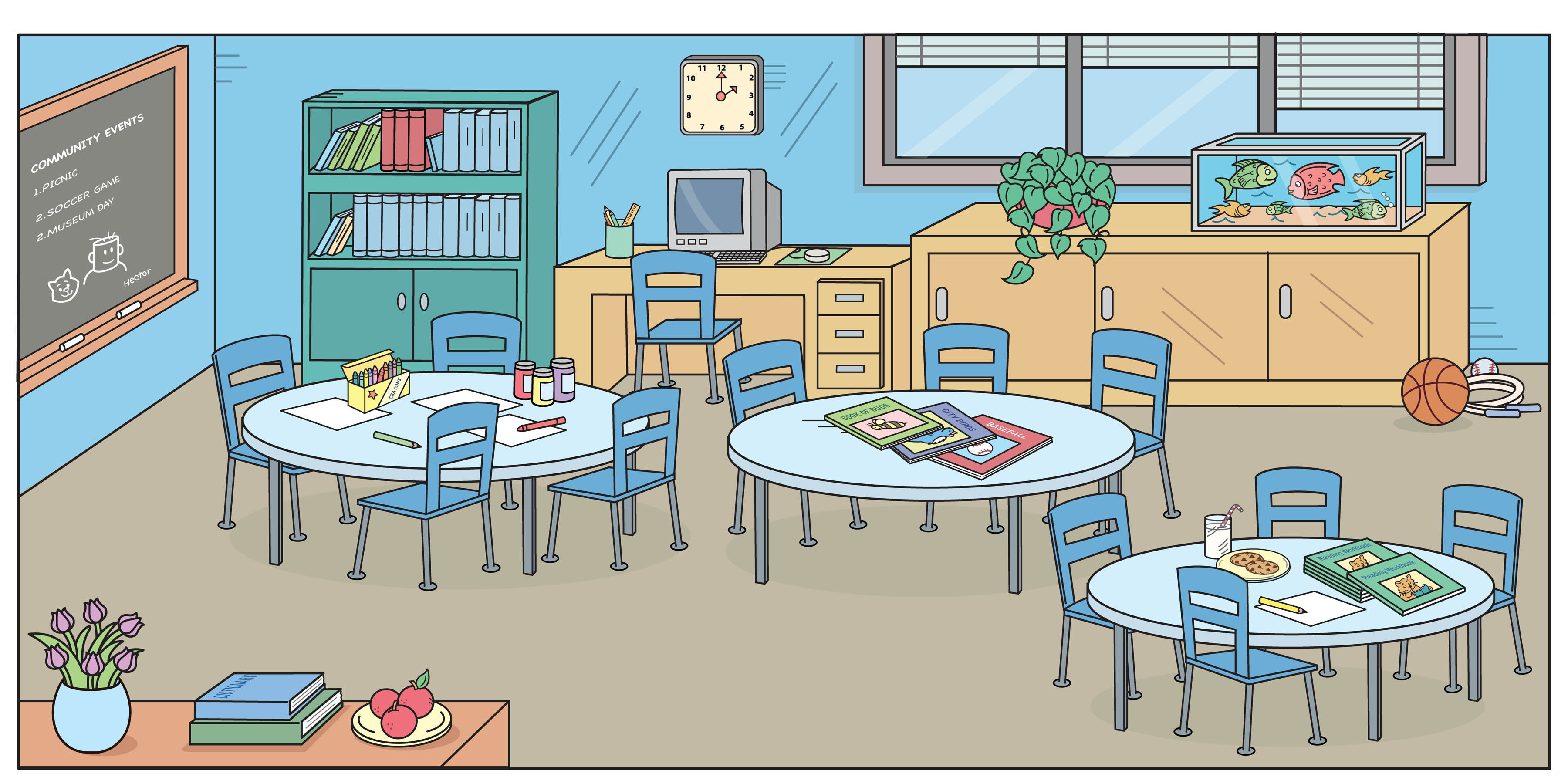Room clipart english #2