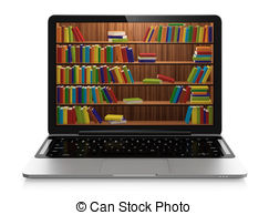 Library clipart bibliotheque Computer of 47 Library clip