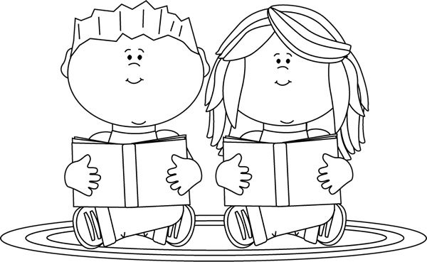 Library clipart black and white Library White Clipart Gallery Clipart