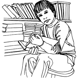 Library clipart black and white Clipart clip collection Teaching art