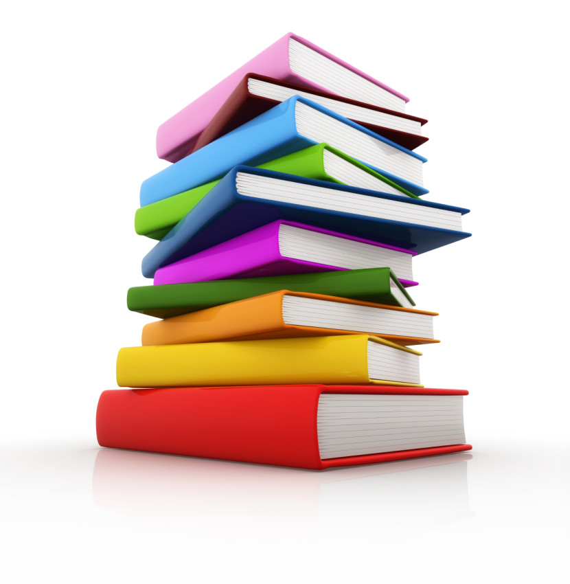 Bobook clipart piled Best Clipart Books Pile collection