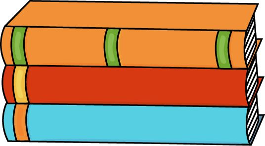 Library clipart book stack Book stacked 3 Art Spine
