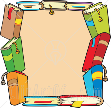 Library clipart border clip art Clipart books%20border%20clipart Free Images Clipart