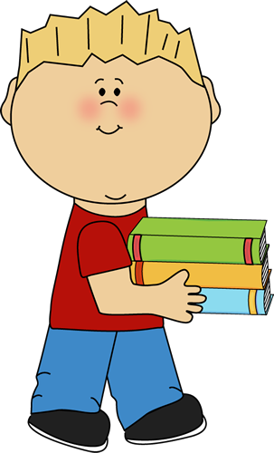 Covered clipart book cartoon Clip Art Download a Boy