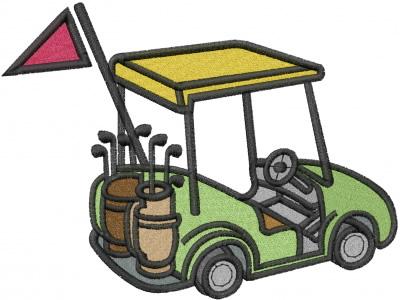 Library clipart cart Golf Images  Cart Golf