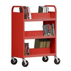 Library clipart cart Carts book carts 3 Book