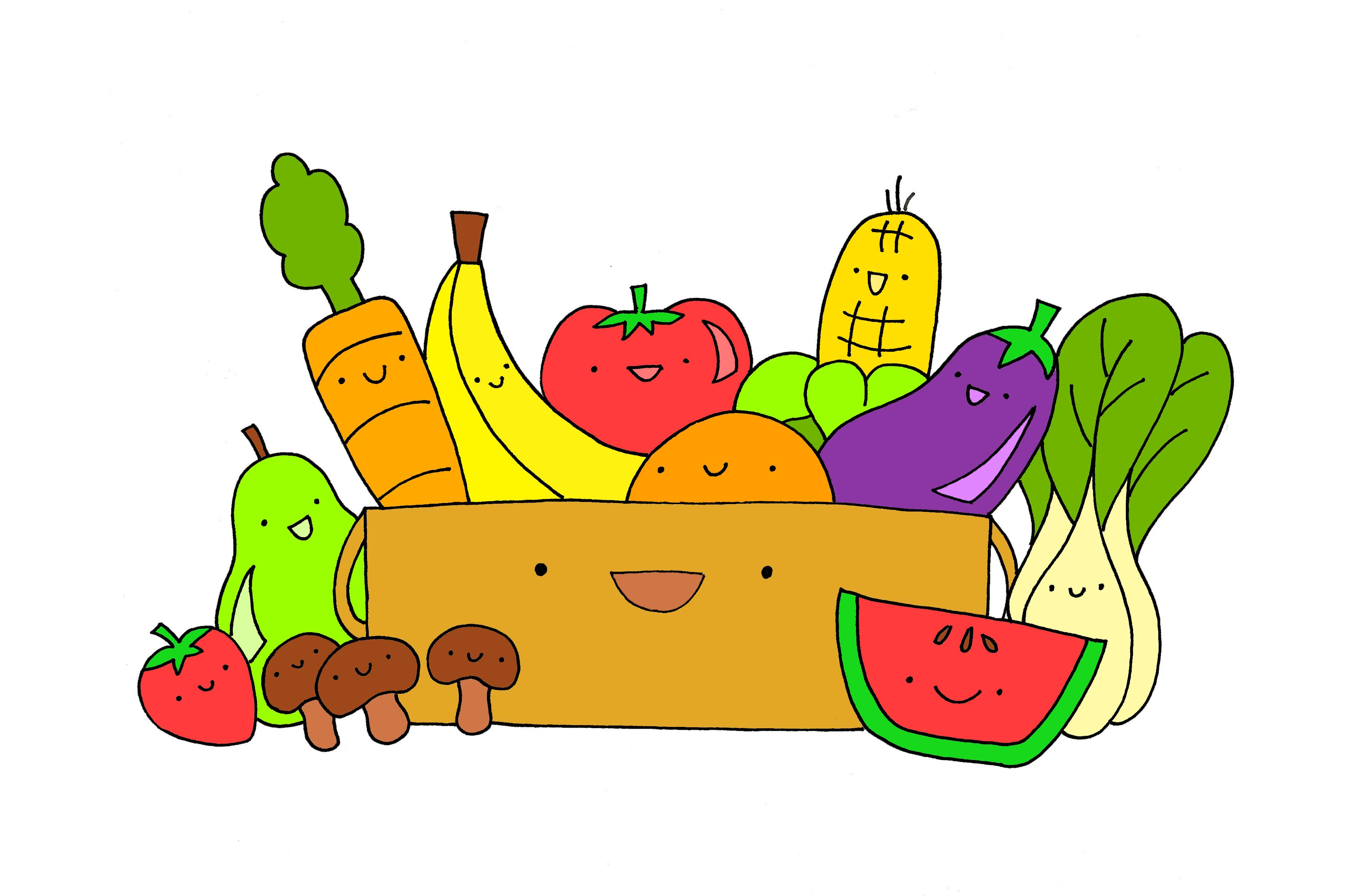 Vegetable clipart glow On Clip Images Food Clip