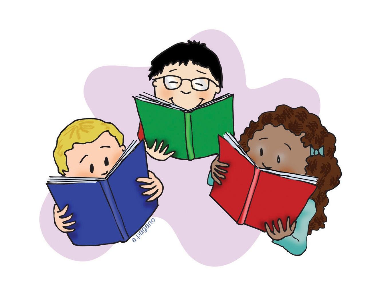 Bobook clipart literacy Clip 101 Clipart Book Kid