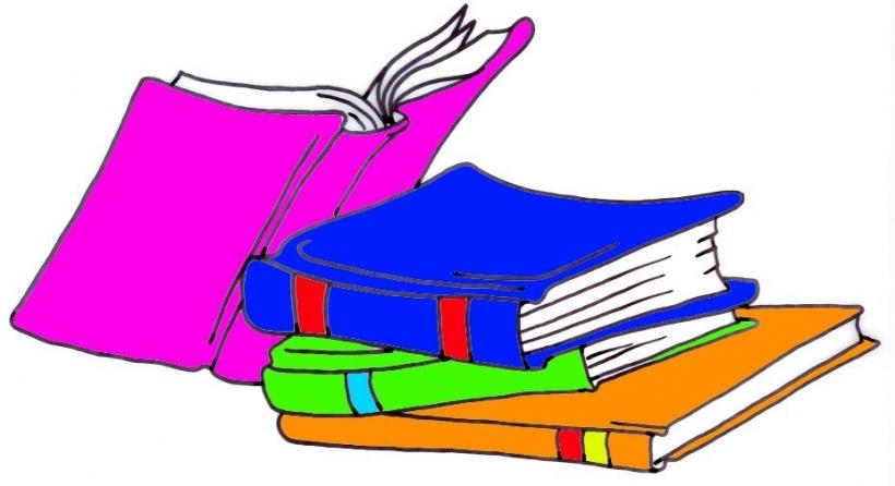 Book clipart reading a Clip books collection Clipart children