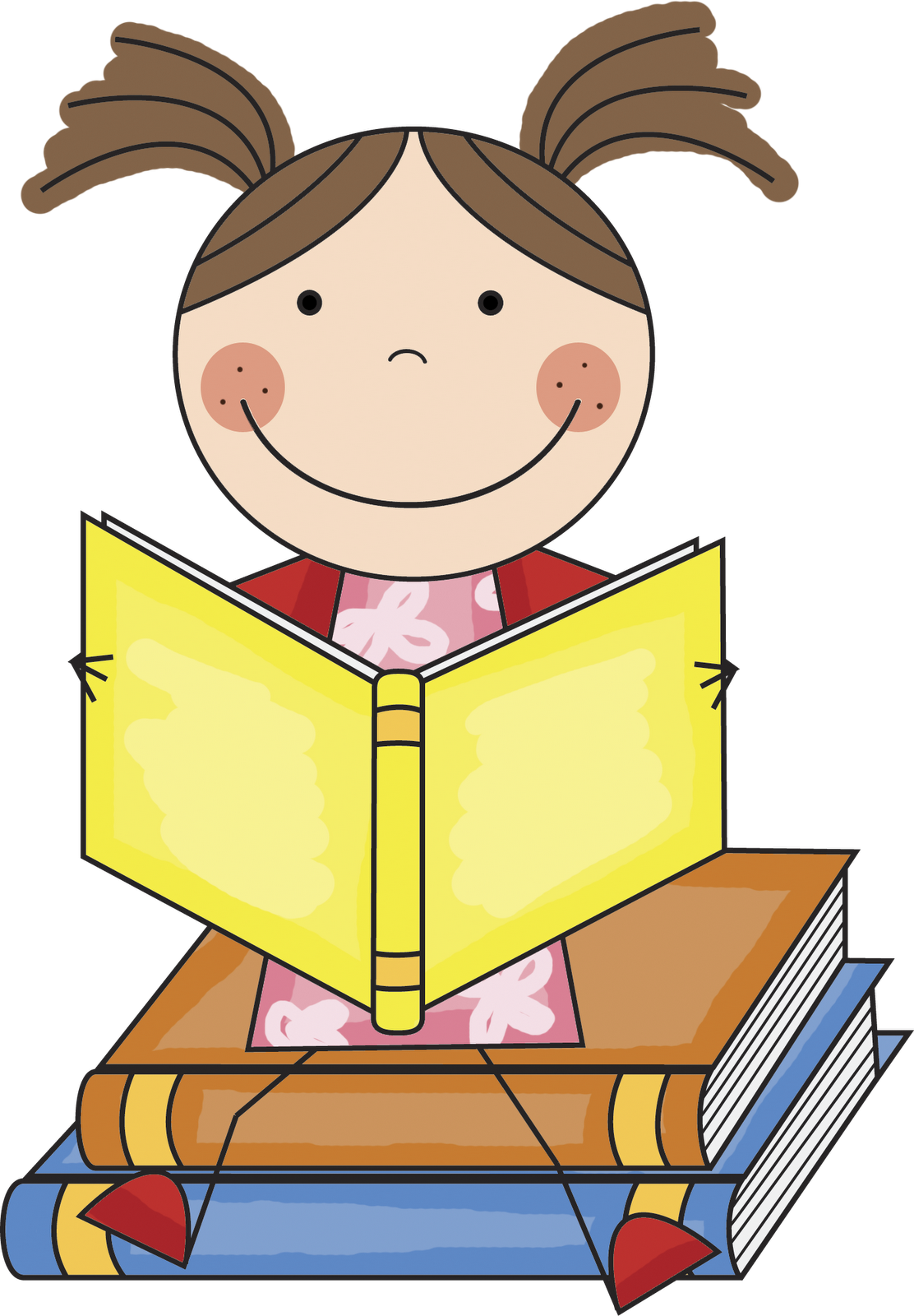 Poem clipart book Reading Clip Clip Children Clipart