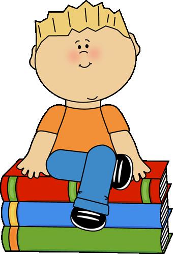 Worm clipart kid book #2