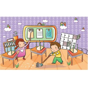 Library clipart childrens room Clean Clip Clipart Students Download