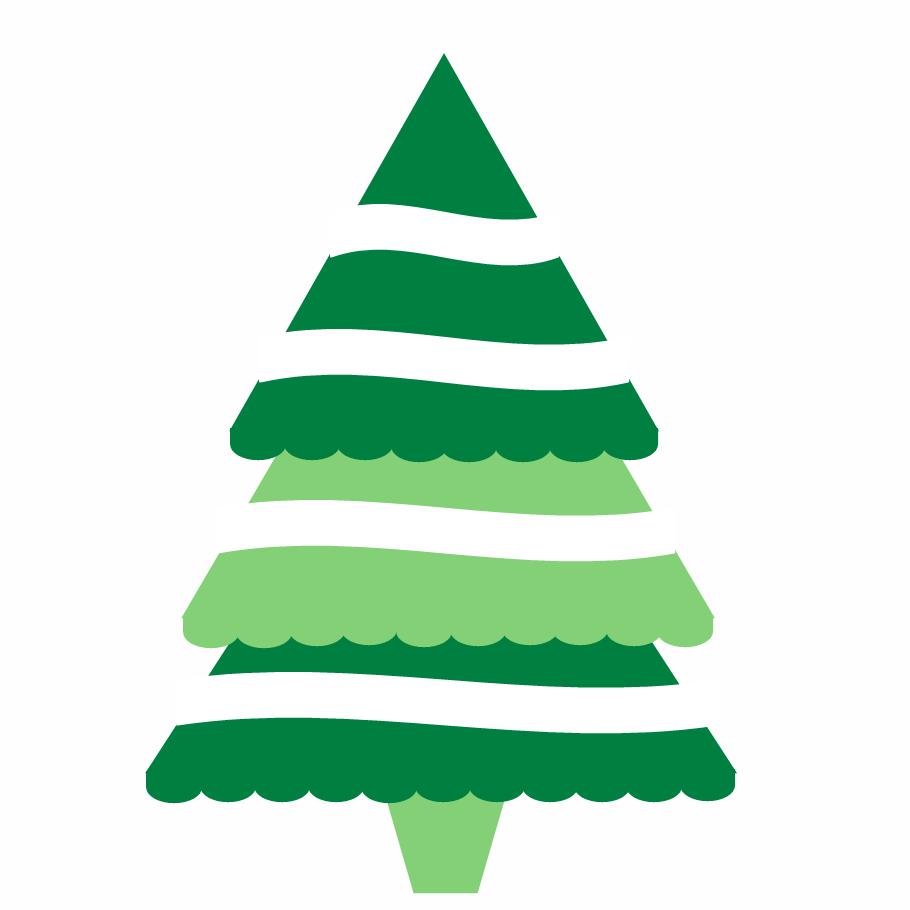 Christmas Tree clipart simple Tree Free Art Art library