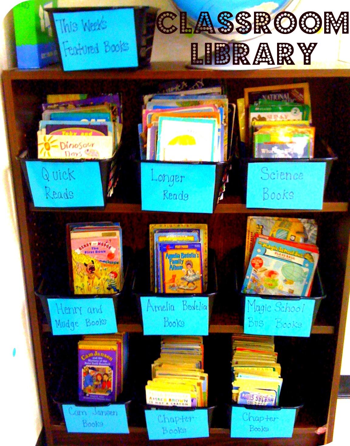 Library clipart classroom library Classroom Library Clip Classroom com