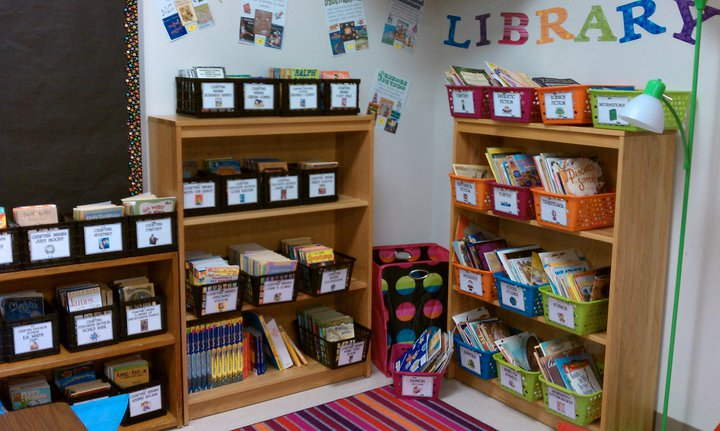 Library clipart classroom library Of Grade: Third Library Linky