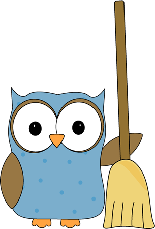Library clipart cleaning classroom Job Owl Art Images Clip