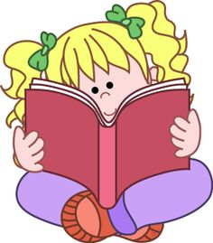 Library clipart cute Reading Free Clip School Download