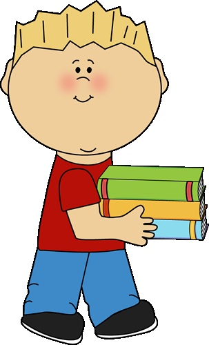 Book clipart brown Library Cliparts job Zone Cute