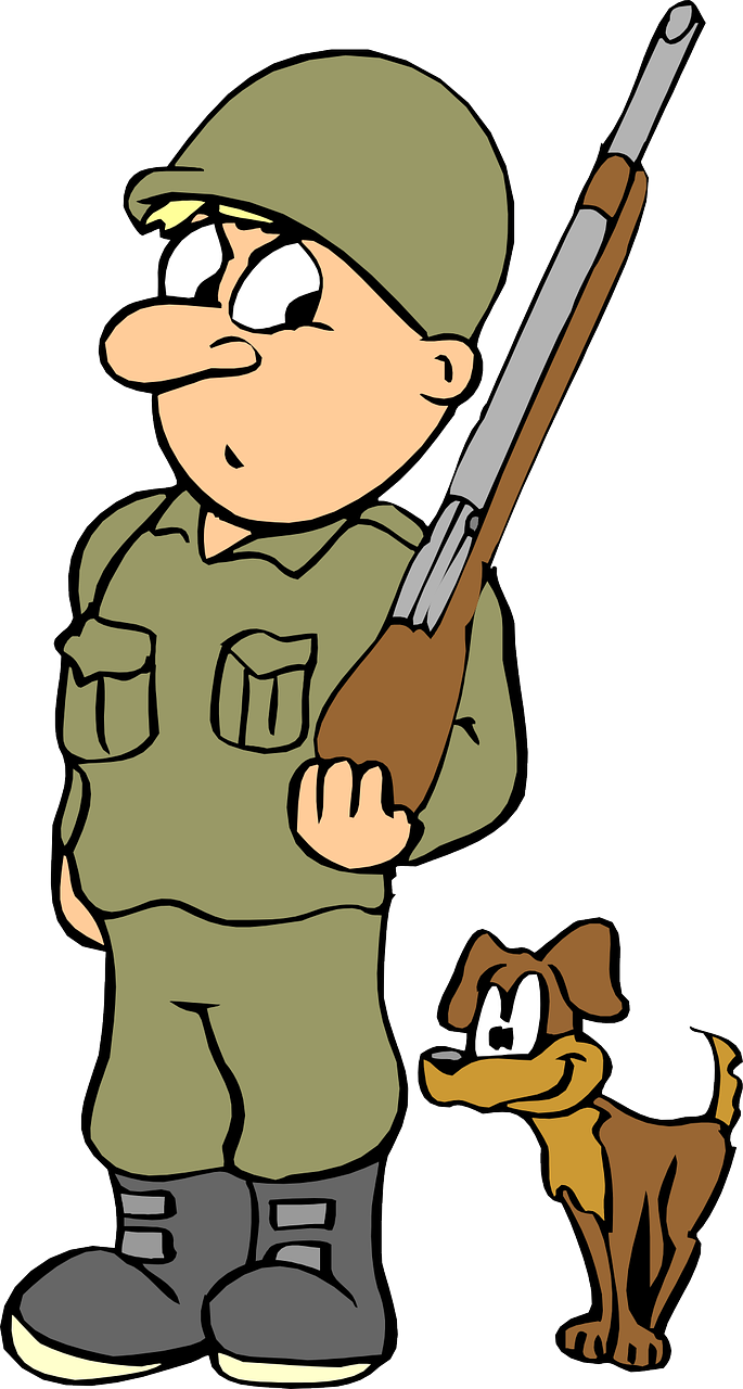 Military clipart cute  Art To Soldier Soldier