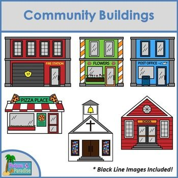 Library clipart different place Build Clip Art Free Clip
