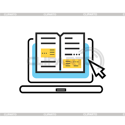 Library clipart digital library And Library with Photos internet
