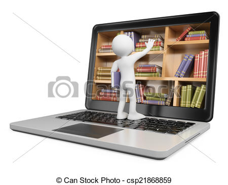 Library clipart digital library Digital for Libraries Download Clip
