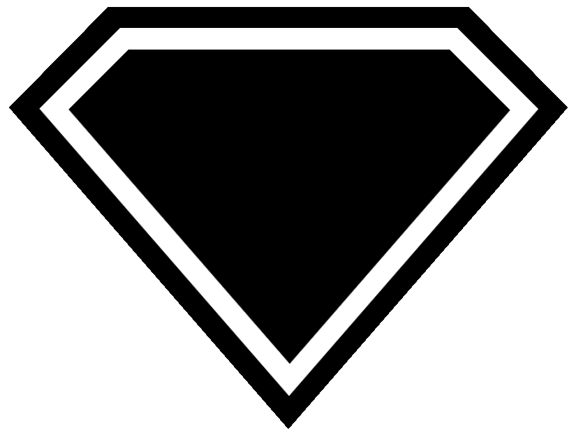 Diamond clipart superman Library Art Empty Clip