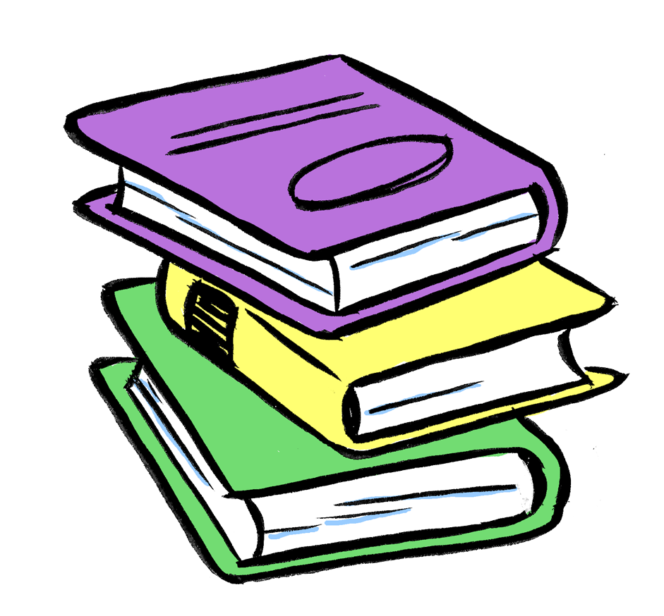 Library clipart english subject David Clip books collection Clipart