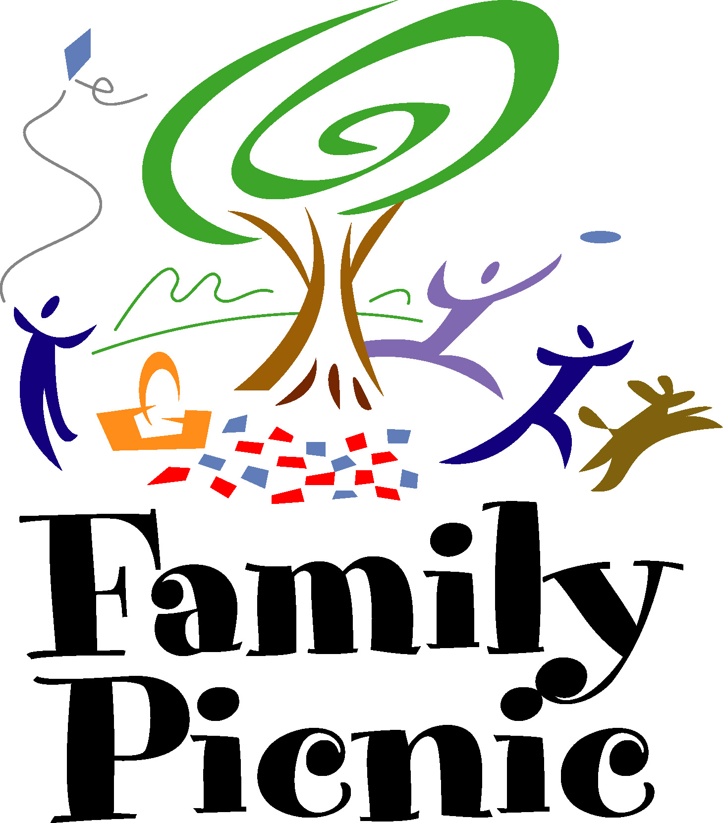 Barbecue clipart family gathering Art Download Free Family Picnic