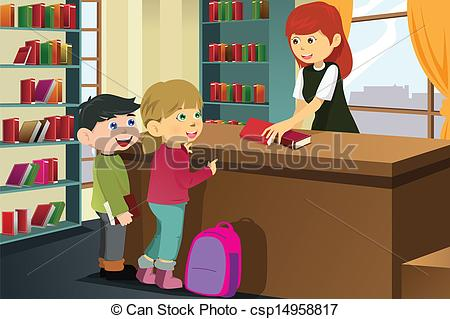 Library clipart graphic Art  borrowing vector the
