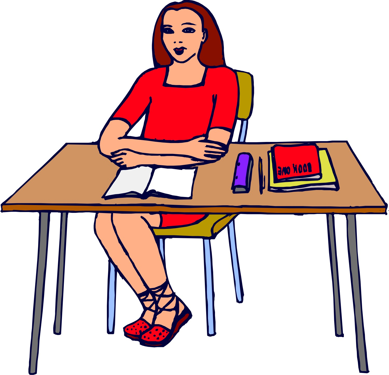 Blonde clipart english teacher English Of Images Free Teaching