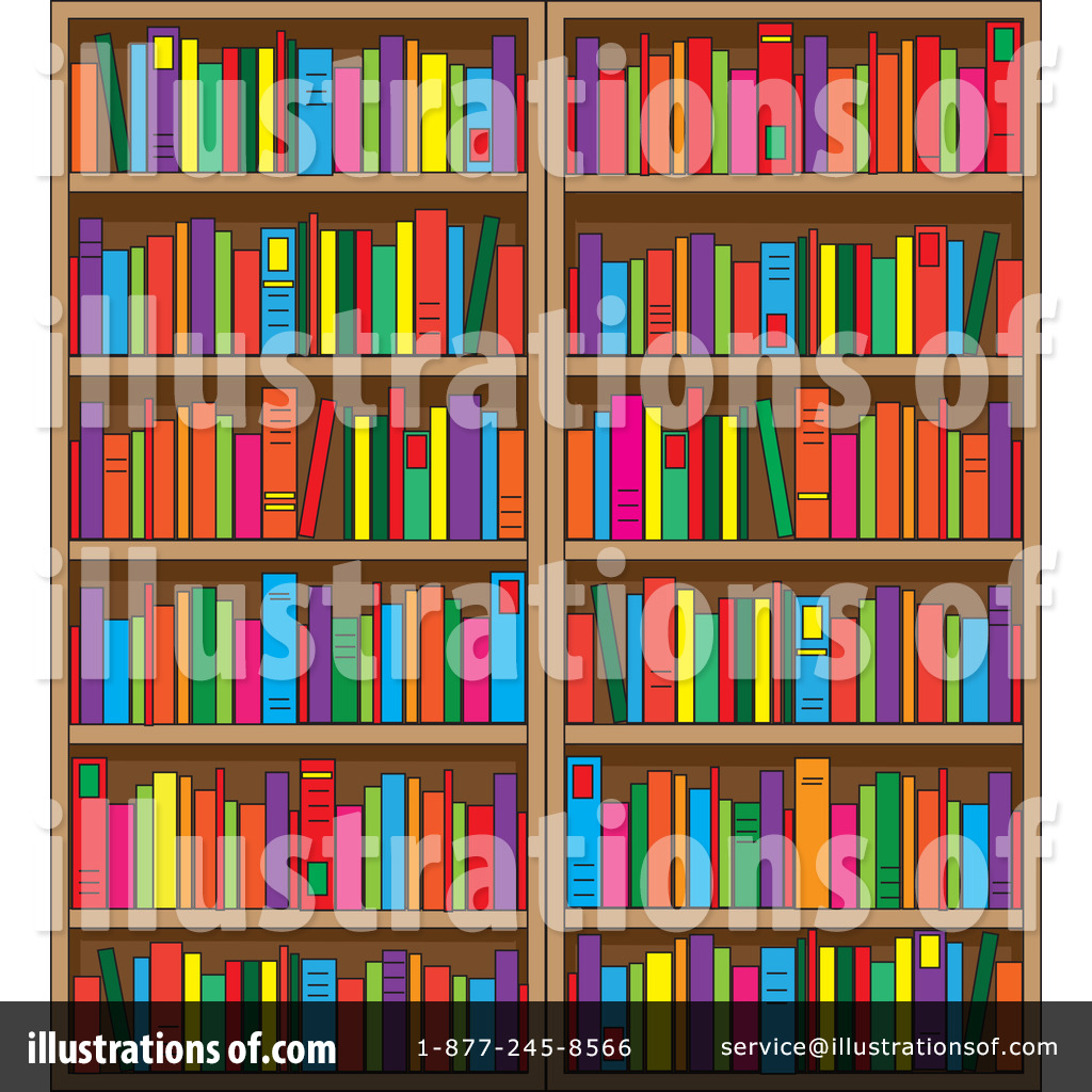 Library clipart illustration By Maria Maria Illustration #1089990