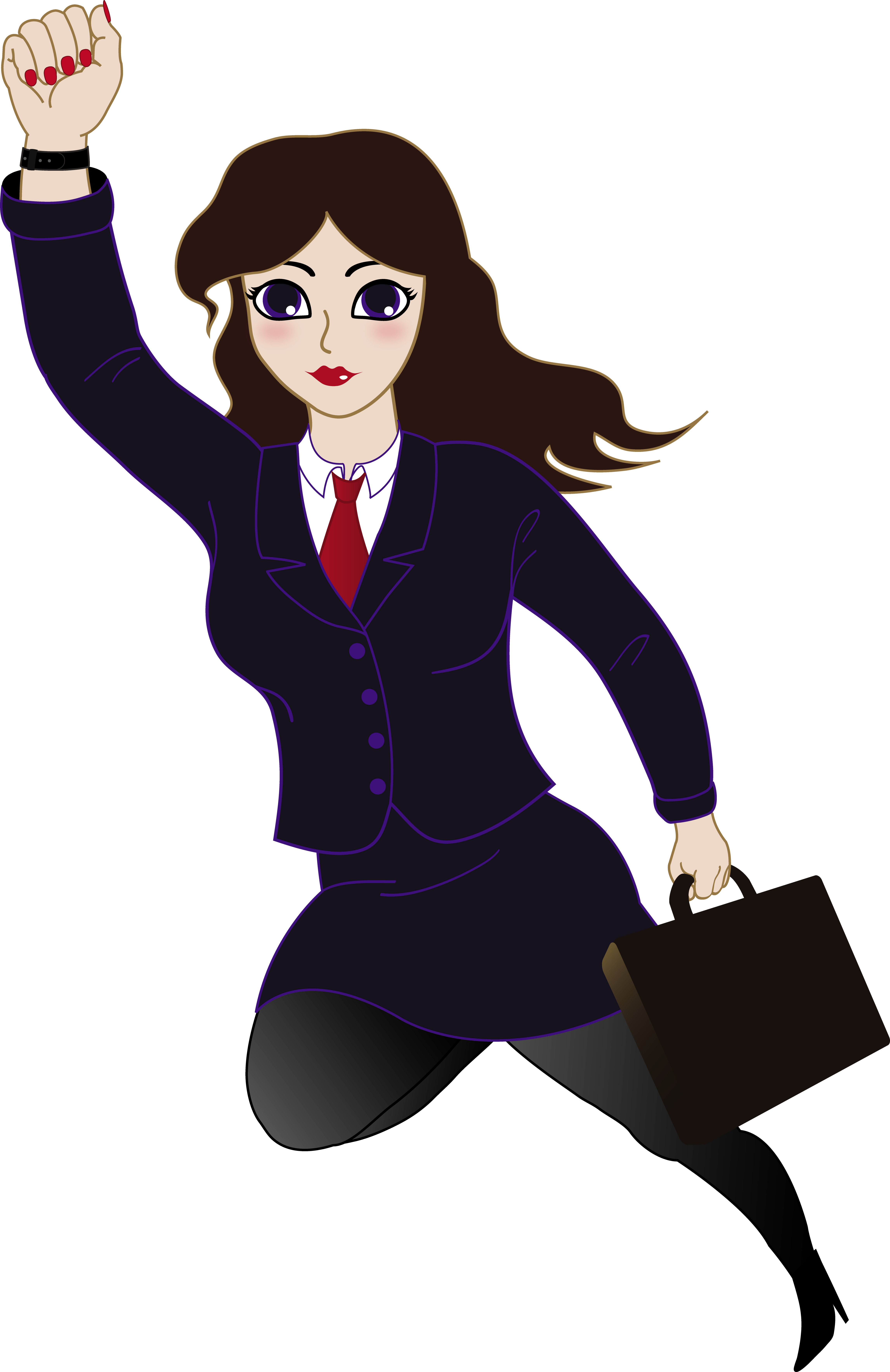 Woman clipart business woman Free Free Clipart Lady Boss