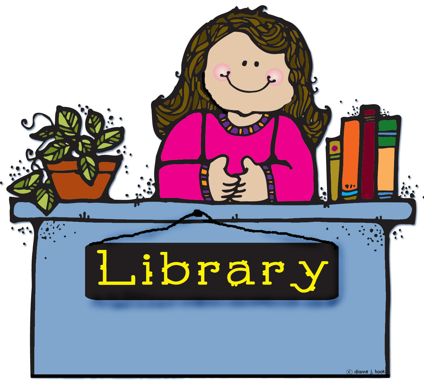 Library clipart librarian Of II Sylvia the libraryexperience