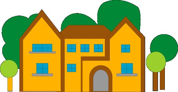 Building clipart orange Free Clip Clipart  Clipart