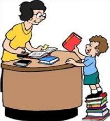 Desk clipart librarian Desk Library Clipart Desk Library