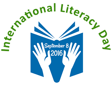 Library clipart literacy day Credit: Day INVOLVEMENT LIBRARY Logo