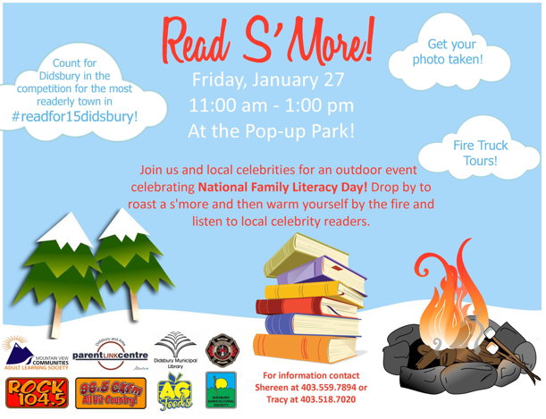 Library clipart literacy day S'More Municipal Day Read Library